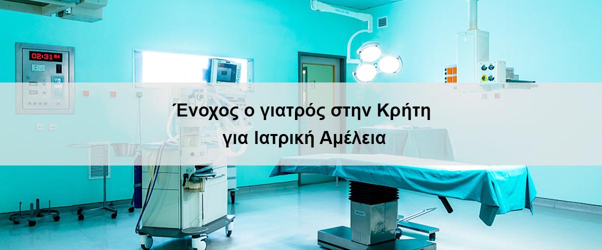 Ένοχος ο γιατρός στην Κρήτη για ιατρική αμέλεια